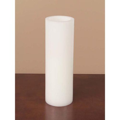 Cc Home Furnishings Pack of 3 White Battery Operated Flameless LED Wax Pillar Candles 12