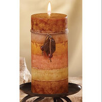 Cc Home Furnishings Pack of 4 Naturals Purify Aromatherapy Scented Pillar Candles 6