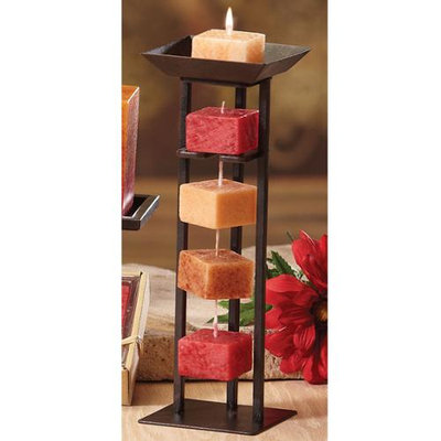 Cc Home Furnishings Pack of 6 Naturals Harmony