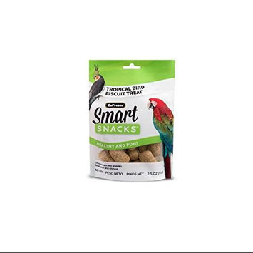 Premium Nutritional Products ZU39015 Smart Snacks Tropical Bird Biscuit Treat 2.5 Oz.