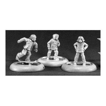 Modern Townsfolk Children Chronoscope Miniature Figures REM50042 REAPER MINATURES
