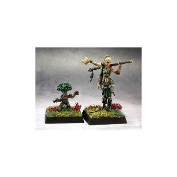 Pathfinder Miniatures: Druid and Familiar REM60147 Reaper