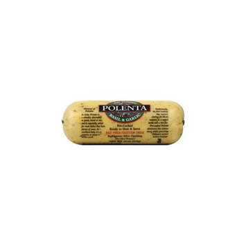 San Gennaro Polenta Basil & Garlic, 18-Ounce (Pack of 6)