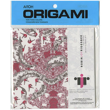 Aitoh Origami Paper Riggsbee Design 04 6inch 20/Sht