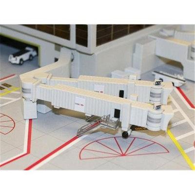 Daron Worldwide Trading GJARBDG2 Gemini Airbridge Set 2 - 3 Double Widebody Bridges 1/400