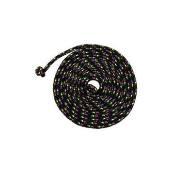 Just Jump It C8BK Black Confetti Jump Rope - 8 Feet