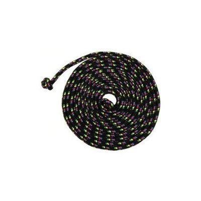 Just Jump It C8BK Black Confetti Jump Rope - 8 Feet