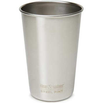Klean Kanteen 16oz Steel Pint Cup Brushed Stainless, 16oz