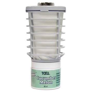 Rubbermaid TCell Air Freshener Refills, 32 Oz, Cucumber Melon, Case Of 6