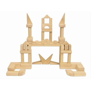 Early Childhood Resources ELR-081 340 piece Hardwood Blocks