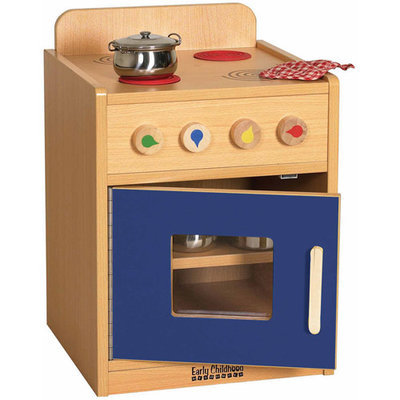 Early Childhood Resource ELR-0746-BL Colorful Essentials Play Stove - Blue
