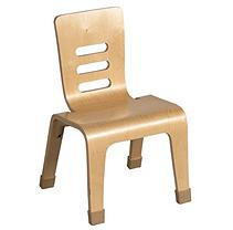 Early Childhood Resource ELR0647NT 16 in. Bentwood Chair Natural
