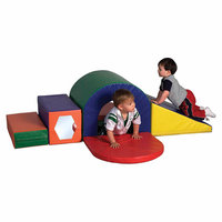 Early Childhood ECR4Kids Slide and Crawl Softzone Set