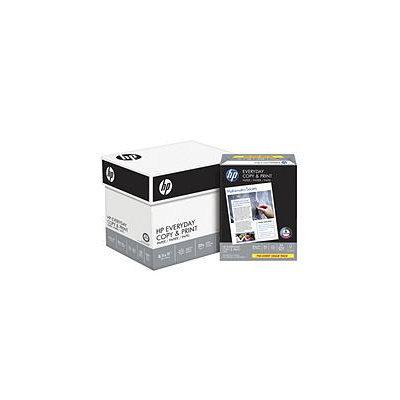 Hewlett Packard HP Everyday Copy & Print Paper, 20lb, 92 Bright, 8 1/2