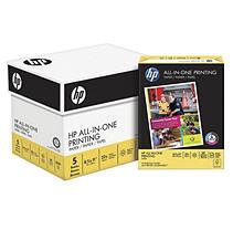 Hewlett Packard Hewlett-Packard All-In-One Printing Paper, 96 Bright, 22lb, Letter, White, 500 Sheets/Ream