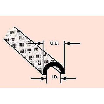 Plastruct HP-8 Butyrate 3/8 Half Round(3) PLS90174 PLS90174 PLASTRUCT