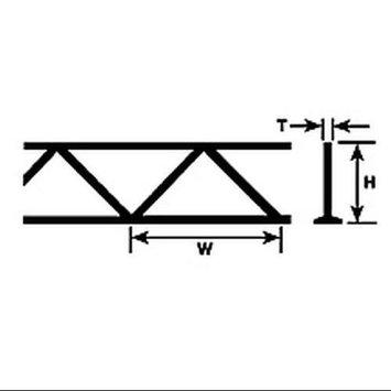 Plastruct 9/32 Warren Open Web Truss (2) PLS90413 PLS90413 PLASTRUCT