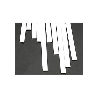 90749 Rectangle Strip Styrene .040x1/4x10 (10) PLSU8060