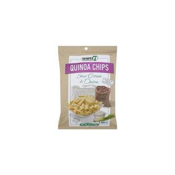 Simply 7 Quinoa Chips Sour Cream & Onion 3.5 oz