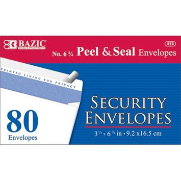 Bazic 573- 24 6 .75 Peel and Seal Security Envelope