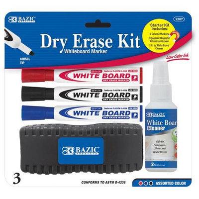 Bazic Products 1207-12 BAZIC Dry Erase Starter Kit - Case of 12