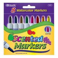 Bulk Buys DDI 357704 8 Color Scented Jumbo Watercolor Marker