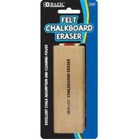 Bazic 222812 Felt Chalkboard Eraser Pack of 12