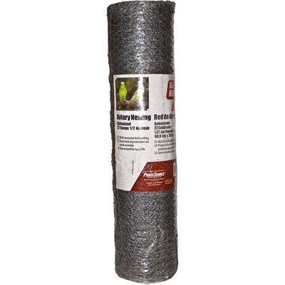 Prime Source 36in. X 100ft. Aviary Netting AN36100