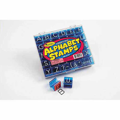 Learning Resources LER0597 Uppercase Alphabet & Punctuation Stamps
