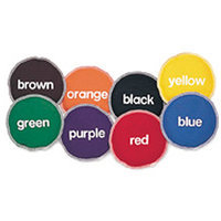 LEARNING RESOURCES LER0541 BEAN BAGS COLOR-8/PK