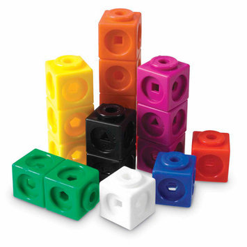 Learning Resources AllLink Cubes Set of 100