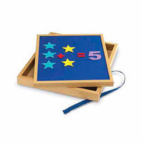Learning Resources LER7286 Double-Sided Tabletop Easel