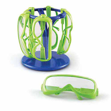 Learning Resources Inc. Primary Science Safety Glasses with Stand Multi-color