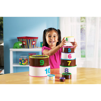 Learning Resources Inc. Learning Resources LER7312 Smart Snacks Stack and Count Layer Cake