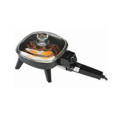 Continental Electric CE23721 Electric Skillet 6.5 Inch Glass Lid