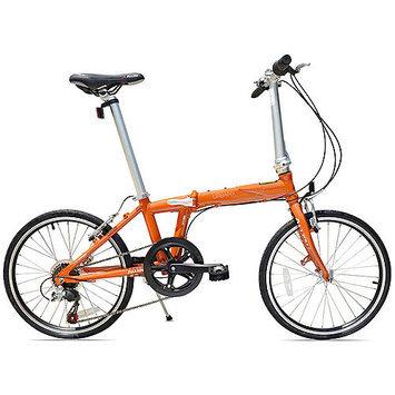 Allen Sports Urban X 7-Speed Aluminum Framed Folding Bicycle (Sedona Orange)