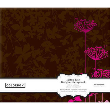 Colorbok Post Bound Album 12
