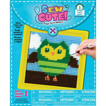 Colorbok Owl Learn To Sew Needlepoint Kit-6