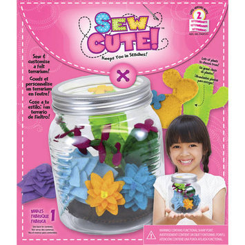 Colorbok Sew Cute Terrarium Sewing Kit