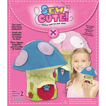 Colorbok Sew Cute Led Fairy House Sewing Kit