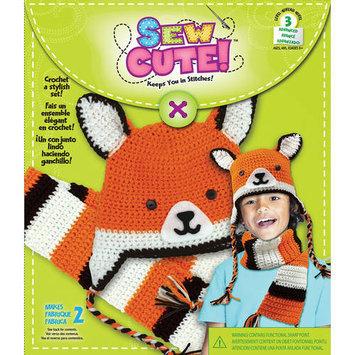 Colorbok Sew Cute Crochet Fox Hat & Scarf