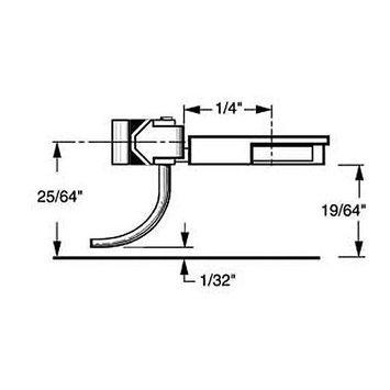 Kadee Qualtiy Products, Co. Kadee 24 20-Series Coupler Short Underset Shank (2 pair)