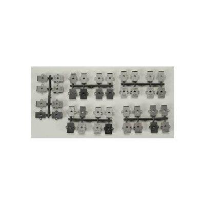 232 Plastic Draft Gearboxes #5 Couplers (20) HO KADU0232 KADEE QUALTIY PRODUCTS, CO.