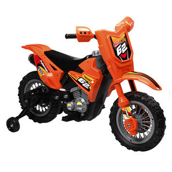 Vroom Rider VR098 6V Battery Operated Dirt Bike (Green)
