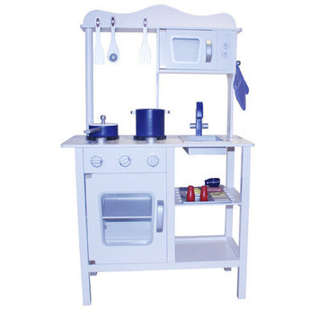 Merske Llc Berry Toys Contemporary Wooden Play Kitchen