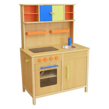 Merske Llc Berry Toys Lots of Fun Wooden Play Kitchen