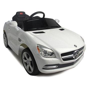 Vroom Rider Mercedes-Benz SLK Rastar 6V Battery Powered Car, Red