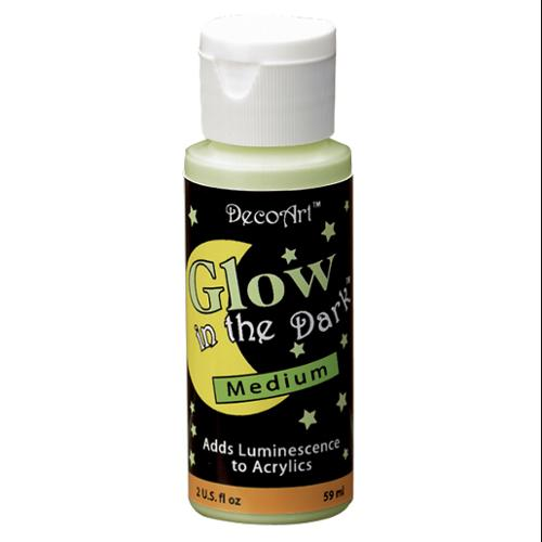 Deco Art 245939 Glow In The Dark Medium-2 Ounces