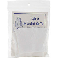 Lyle 102640 Adult Jacket Cuffs 3 in. x 7 in. -Navy
