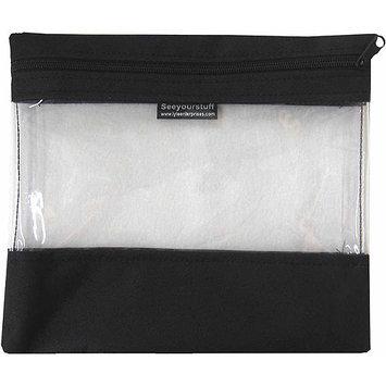 Lyle Seeyourstuff Clear Storage Bags 10X11-Tangerine